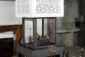 Central Fireplace Surrounds - O 111