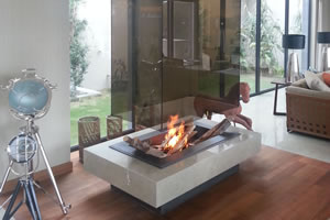 Central Fireplace Surrounds - O 114