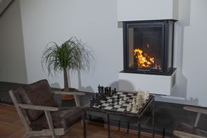 Central Fireplace Surrounds - O 121