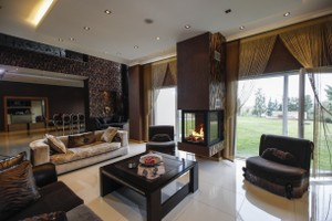 Central Fireplace Surrounds - O 125 A