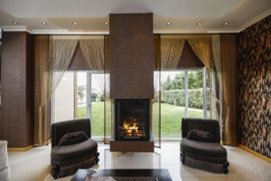 Central Fireplace Surrounds - O 125
