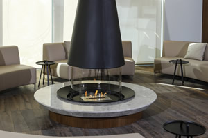 Central Fireplace Surrounds - O 127 A