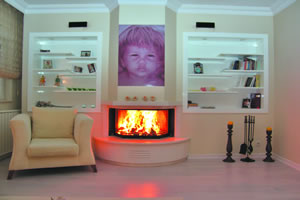 Prismatic Fireplace Surrounds - P 105