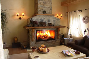 Rustic Fireplace Surrounds - R 101