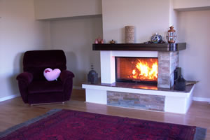 Rustic Fireplace Surrounds - R 104