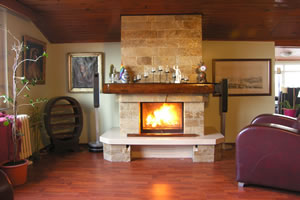 Rustic Fireplace Surrounds - R 106