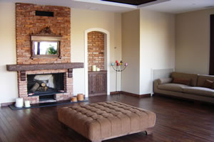 Rustic Fireplace Surrounds - R 107