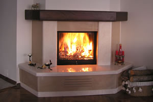 Rustic Fireplace Surrounds - R 108