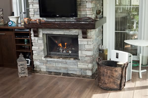 Rustic Fireplace Surrounds - R 116 B