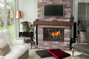Rustic Fireplace Surrounds - R 117 A