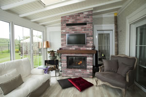 Rustic Fireplace Surrounds - R 117
