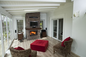 Rustic Fireplace Surrounds - R 118
