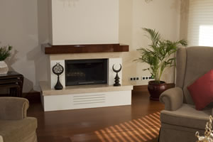 Rustic Fireplace Surrounds - R 119