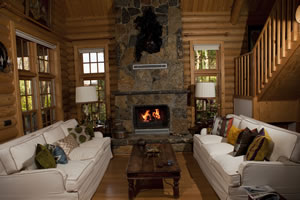 Rustic Fireplace Surrounds - R 120 A