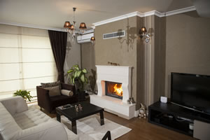 Rustic Fireplace Surrounds - R 121