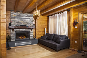 Rustic Fireplace Surrounds - R 125 B