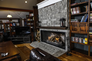 Rustic Fireplace Surrounds - R 126 B