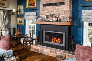 Rustic Fireplace Surrounds - R 127 A