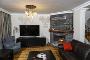 Rustic Fireplace Surrounds - R 128 A