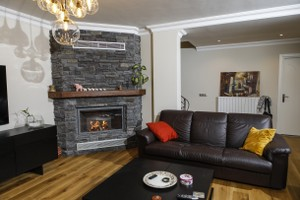 Rustic Fireplace Surrounds - R 128 B