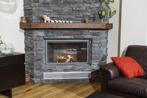 Rustic Fireplace Surrounds - R 128