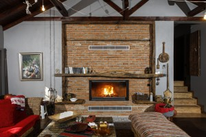 Rustic Fireplace Surrounds - R 130