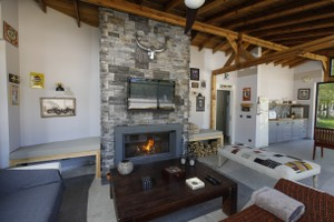 Rustic Fireplace Surrounds - R 132 B