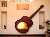 Özel Tasarım Şömineler - TSR 102 Gitar