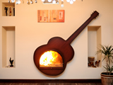 Special Design Fireplaces - TSR 102 Gitar