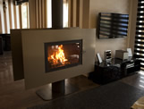 Special Design Fireplaces - TSR 110 360° Plazma D