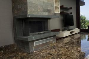 U-Type Fireplace Surrounds - U 125 B