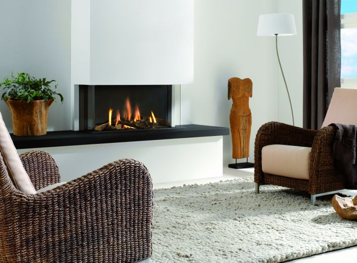 Element4 Natural Gas Fireplaces - Trisore 100
