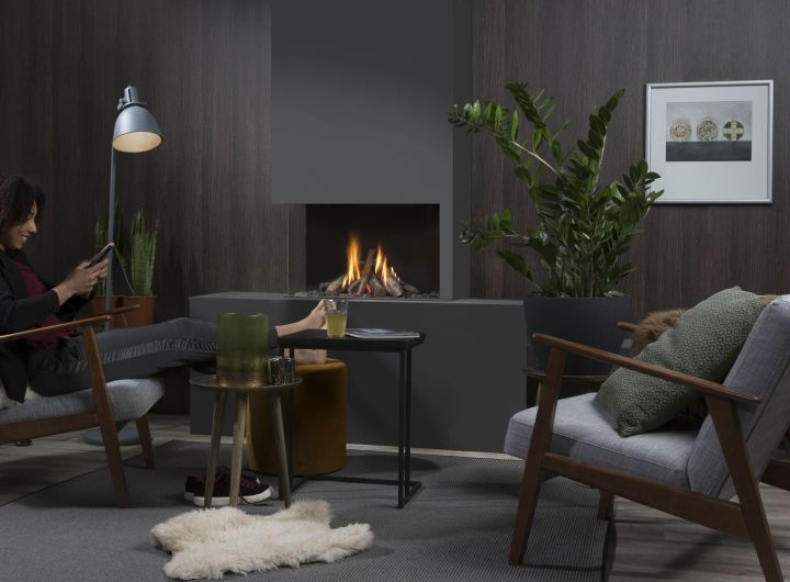 Element4 Natural Gas Fireplaces - Summum 70 C
