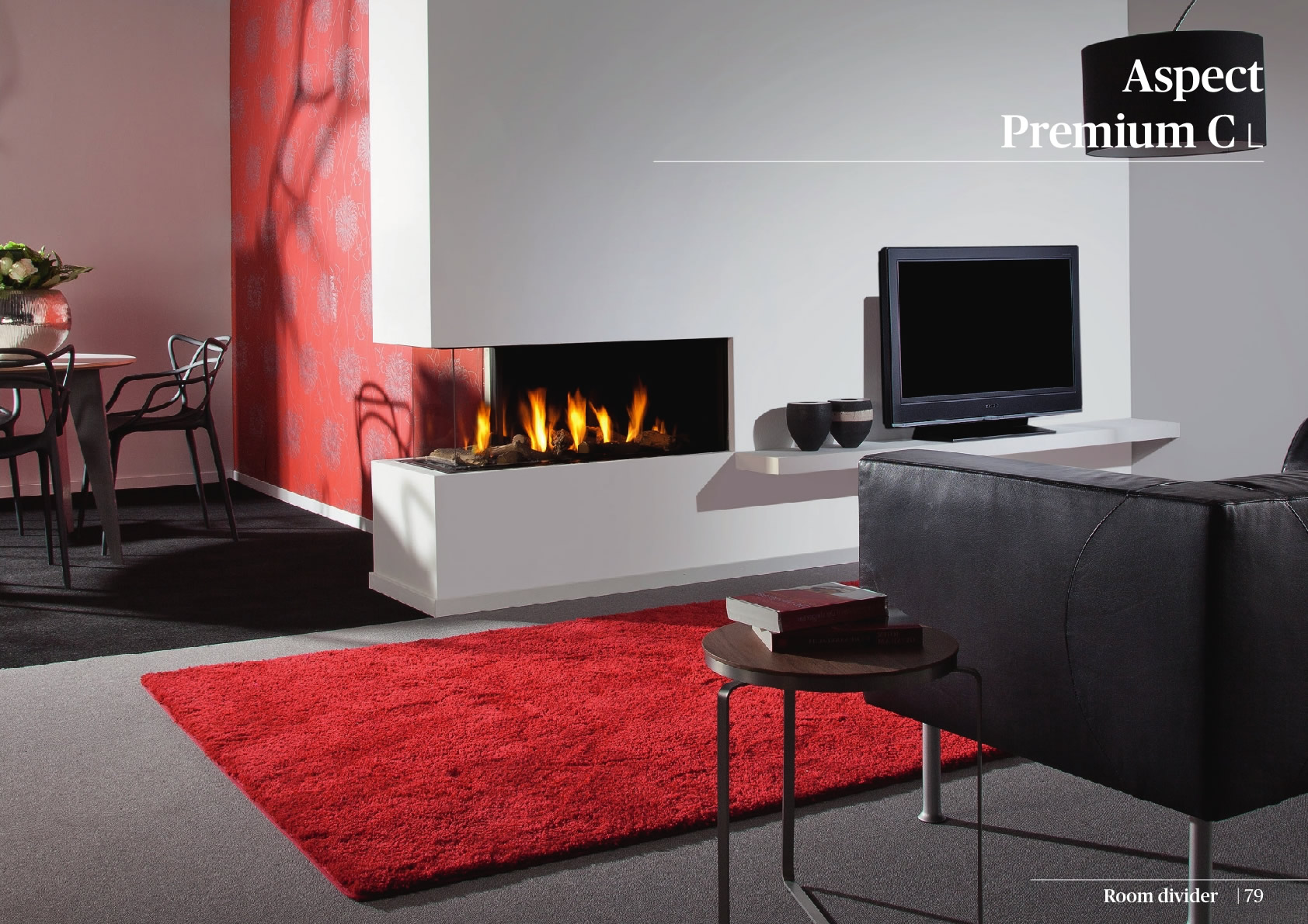 Faber Natural Gas Fireplaces - Aspect Premium CL