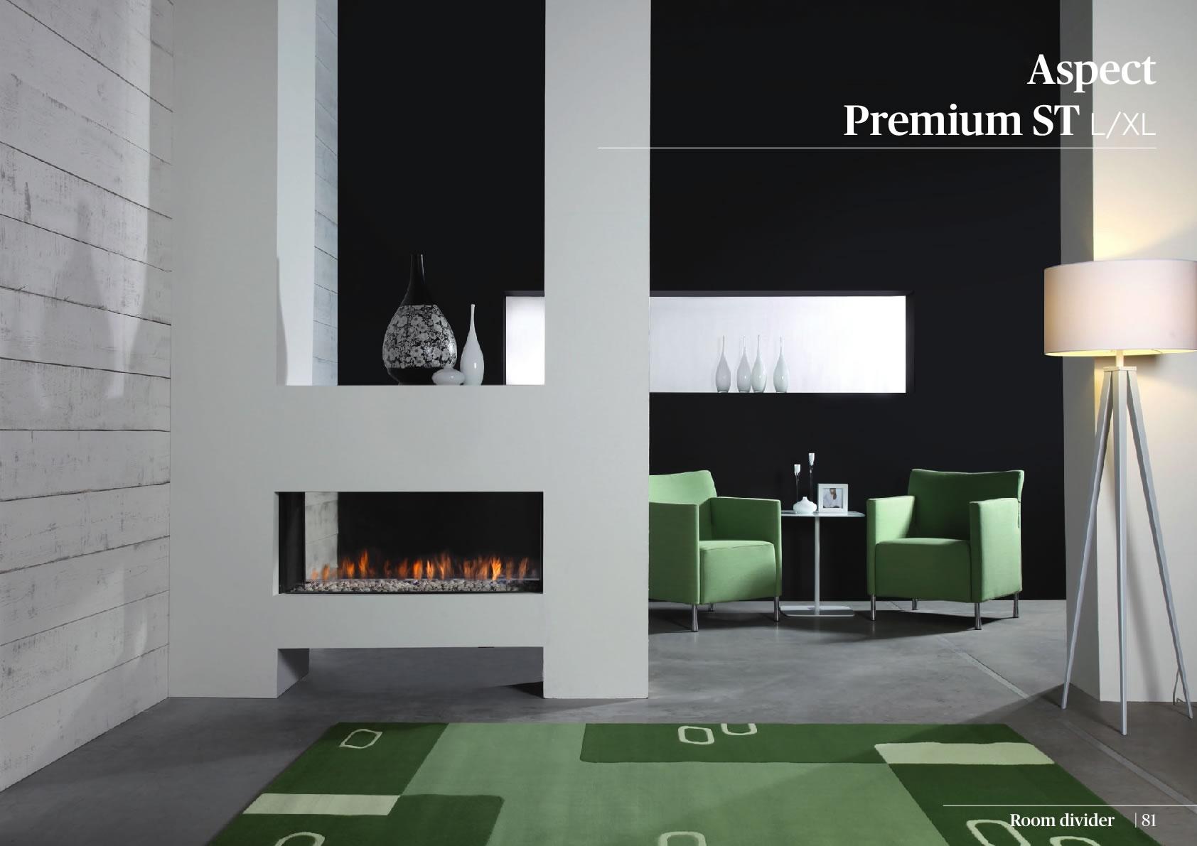Faber Doğalgazlı Şömineler - Aspect Premium ST L