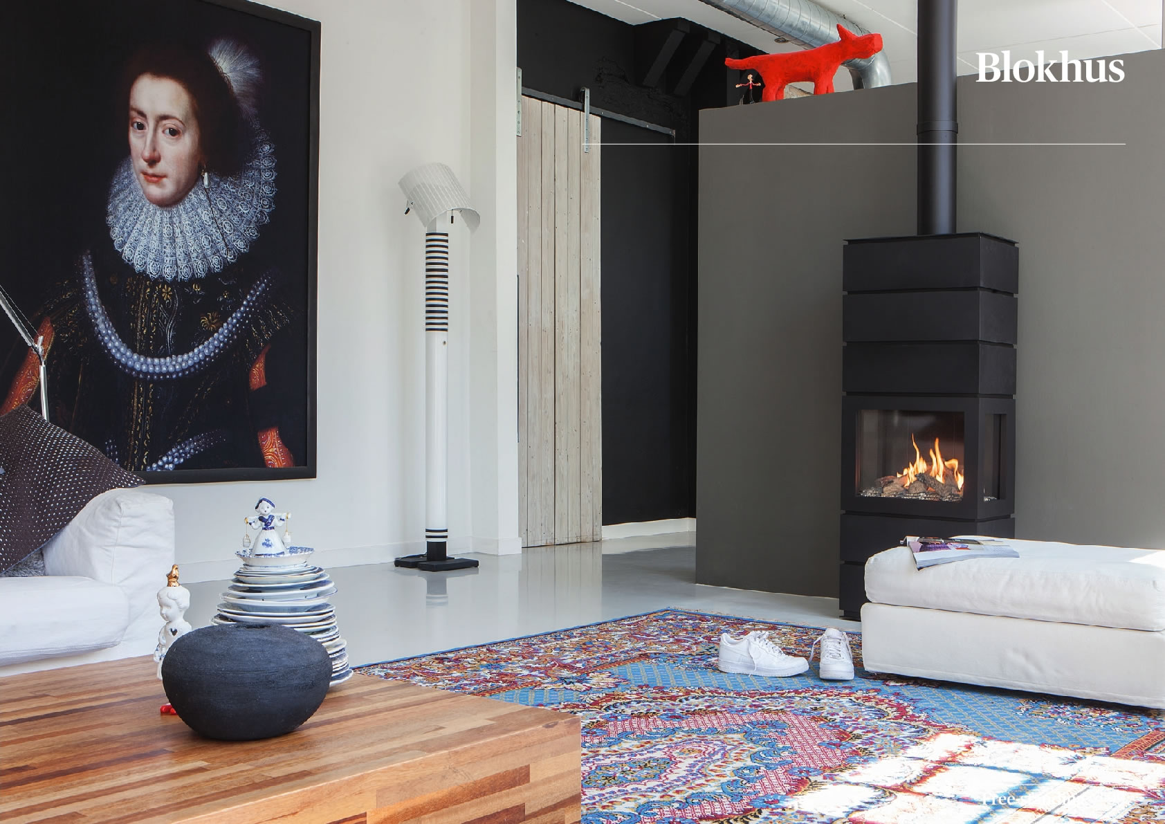 Faber Natural Gas Fireplaces - Blokhus