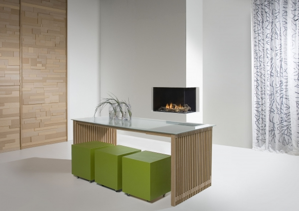 Faber Natural Gas Fireplaces - Duet Smart M
