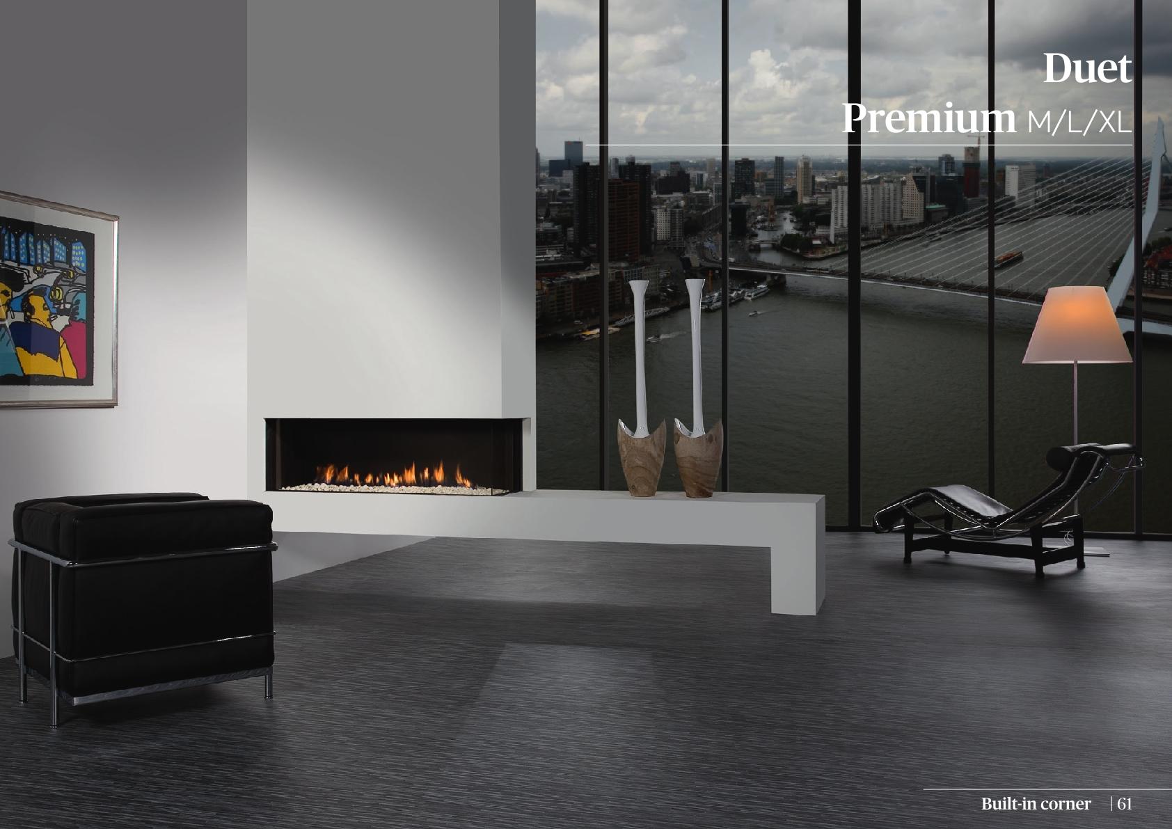 Faber Doğalgazlı Şömineler - Duet Premium XL