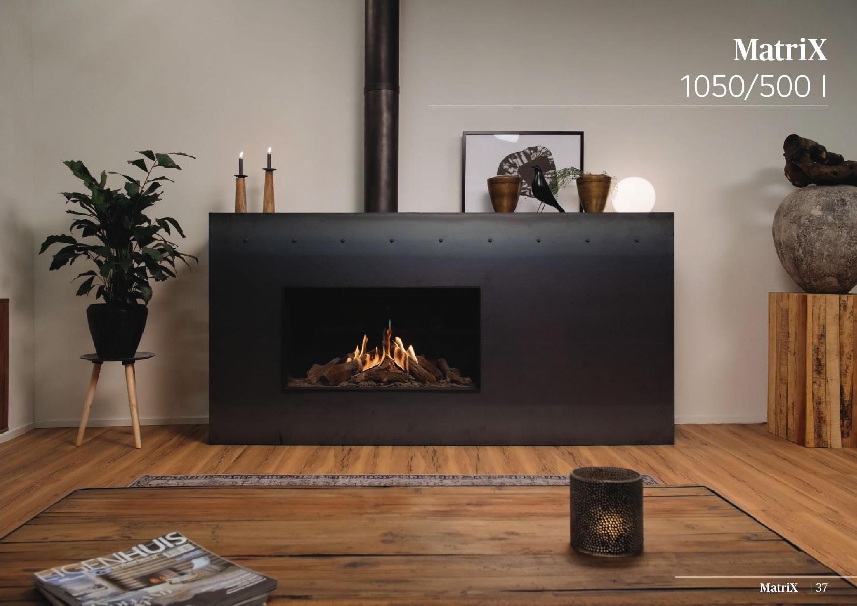 Faber Doğalgazlı Şömineler - Matrix 1050 / 500 I