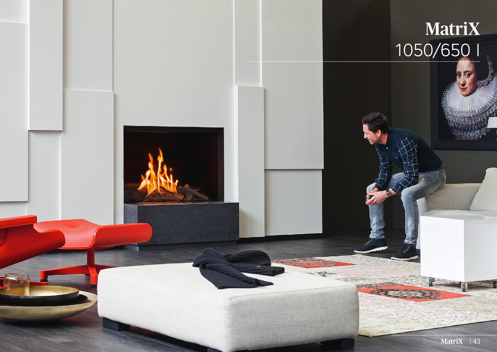 Faber Natural Gas Fireplaces - MATRİX 1050 / 650 I