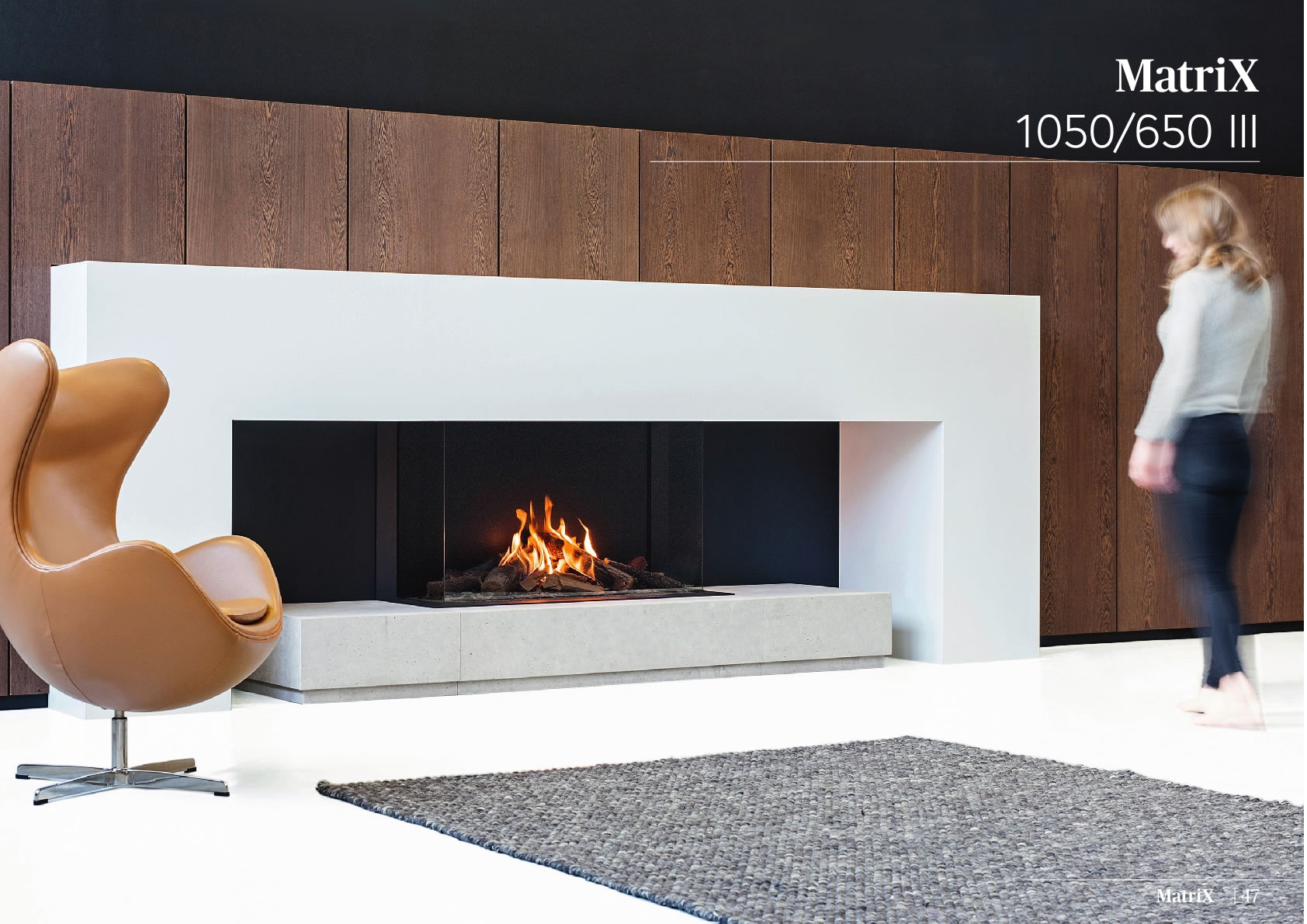 Faber Natural Gas Fireplaces - MATRİX 1050 / 650 III