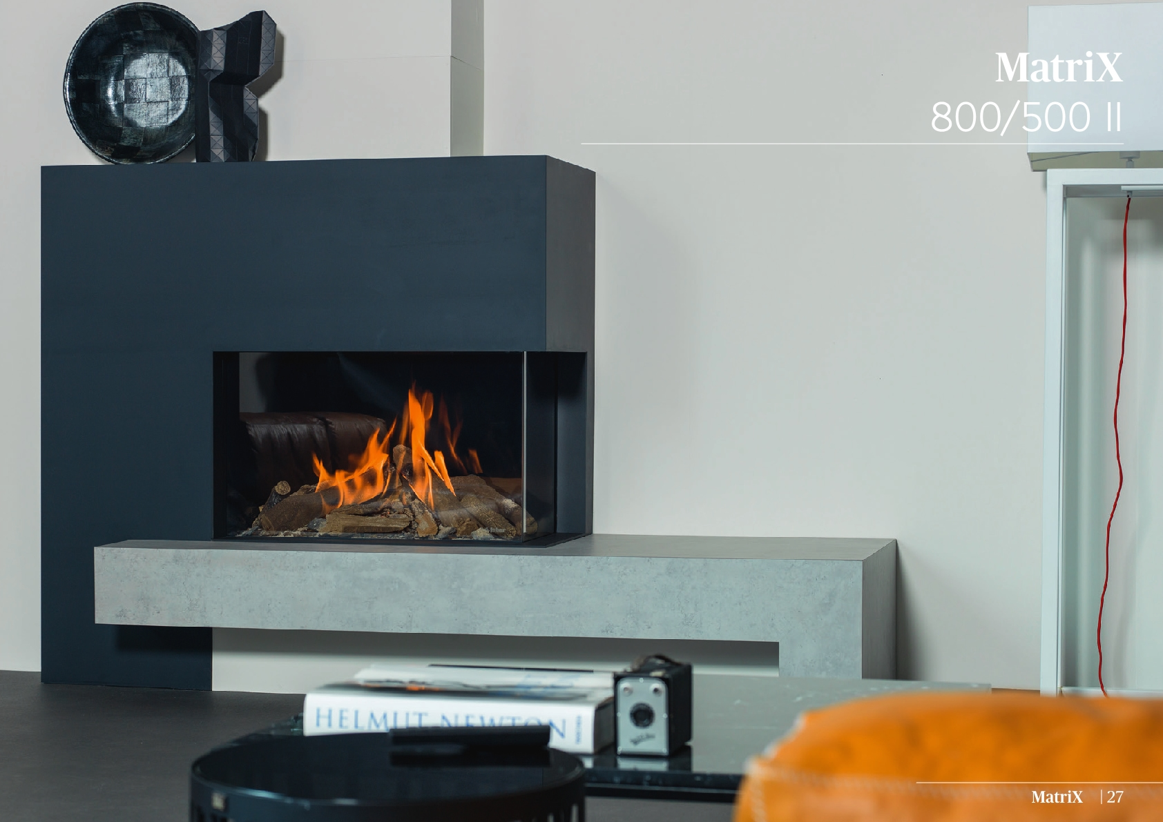 Faber Natural Gas Fireplaces - Matrix 800 / 500 II