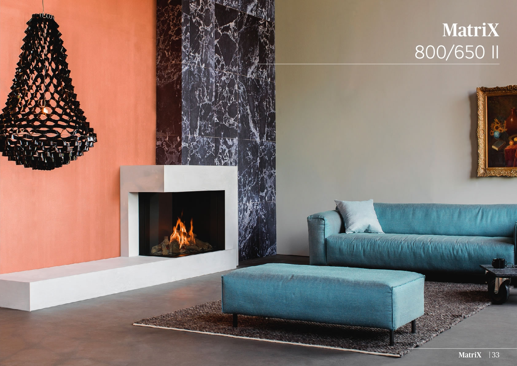 Faber Natural Gas Fireplaces - Matrix 800 / 650 II