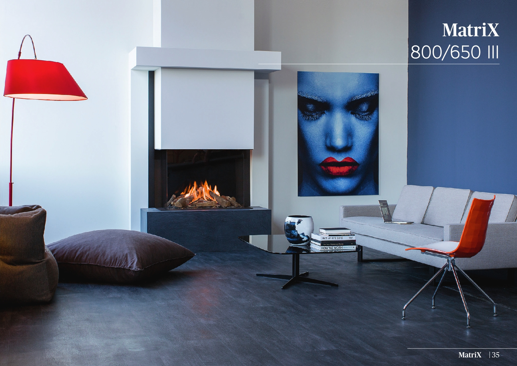 Faber Natural Gas Fireplaces - Matrix 800 / 650 III