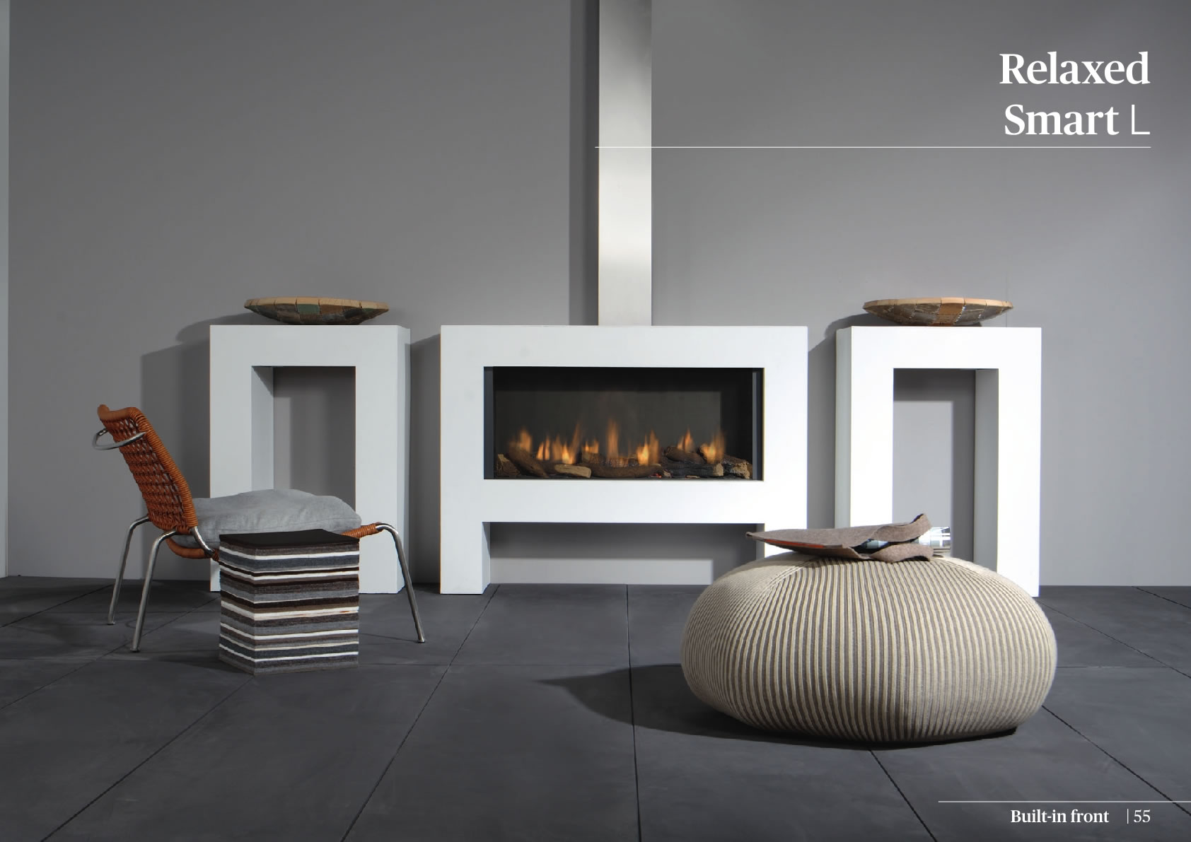 Faber Natural Gas Fireplaces - Relaxed Smart L