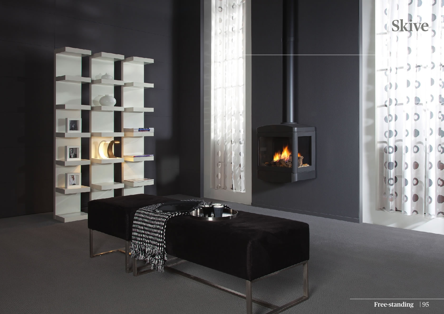 Faber Natural Gas Fireplaces - Skive