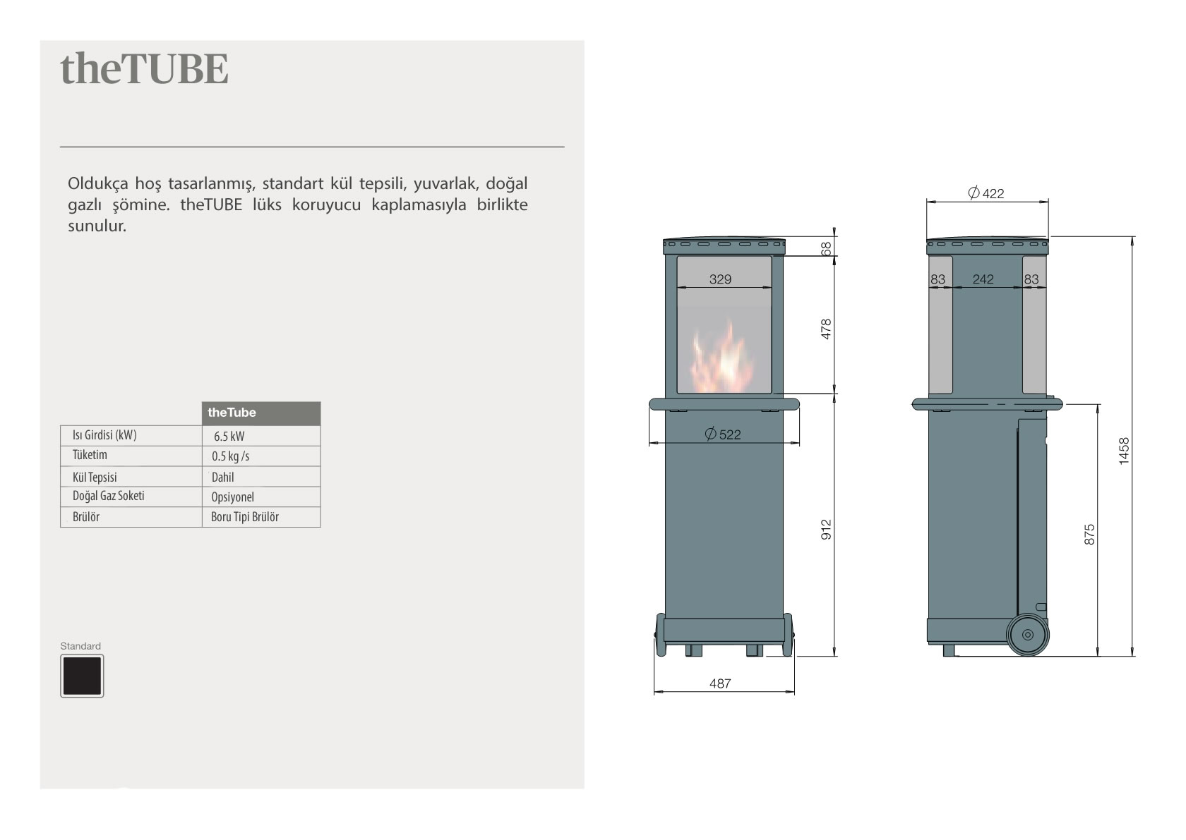Faber Natural Gas Fireplaces - theTUBE