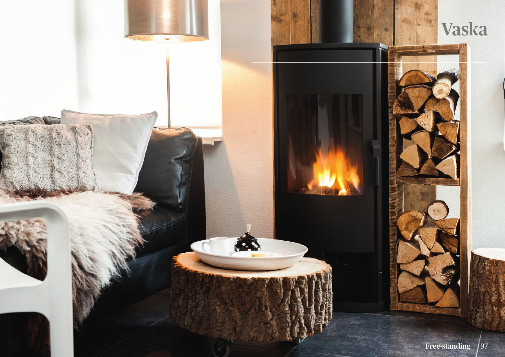 Faber Natural Gas Fireplaces - Vaska