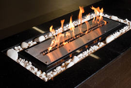 Bio-ethanol fireplaces (Flueless)
