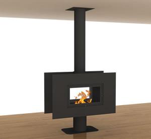 Hürsan Odunlu Orta Şömineler - 360